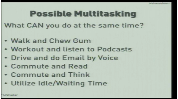 Possible multitasking