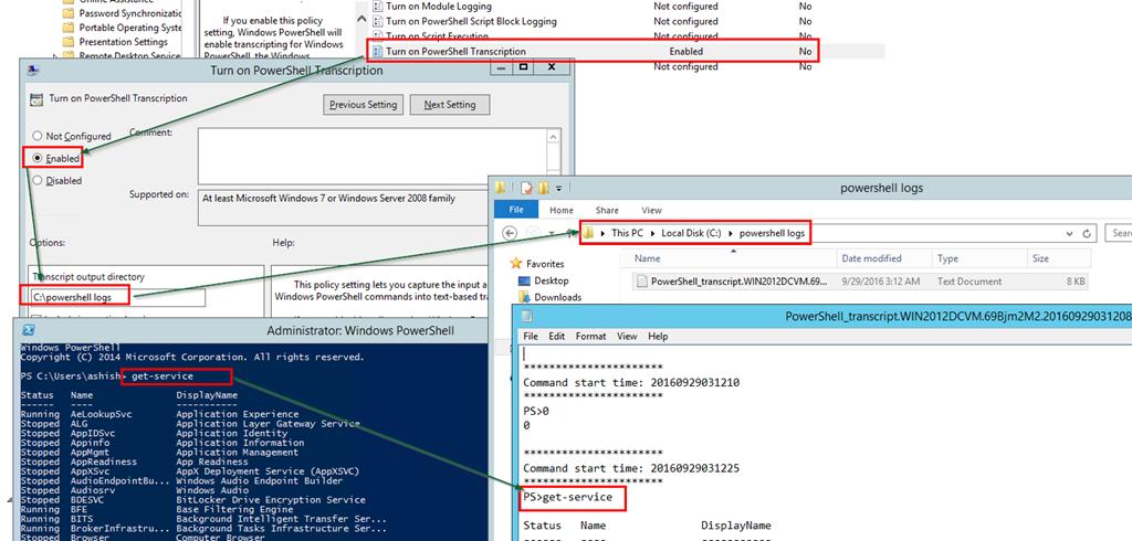 PowerShell Transcription and script bulk logging | Ashish Gupta